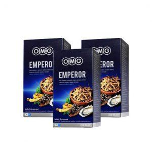 อาหารเสริม OMG EMPEROR 3 กล่อง
