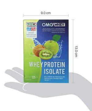 โอเอ็มจี เวย์โปรตีน ขยาดกล่อง